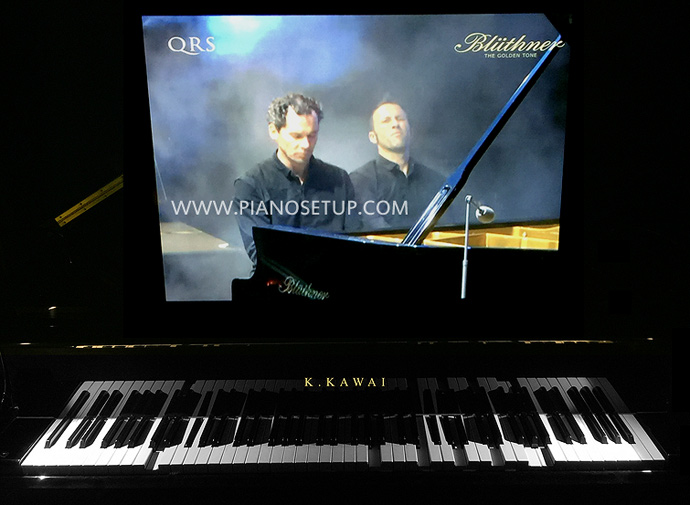 player piano tv